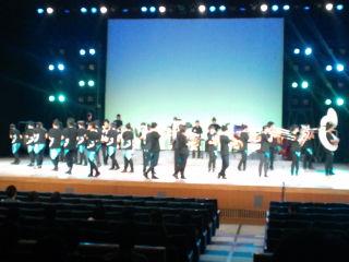 東北学院榴ヶ岡高校吹奏楽部定期演奏会終了